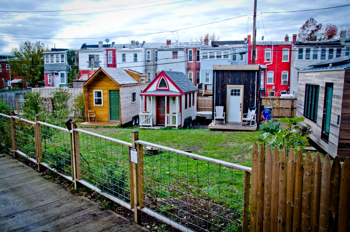 Boneyard Studios a few tiny houses in washington DC